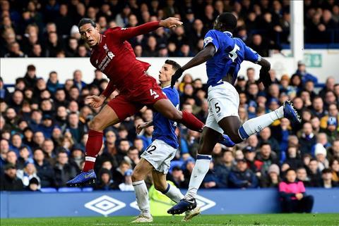 Van Dijk vs Evertonvs 0-0