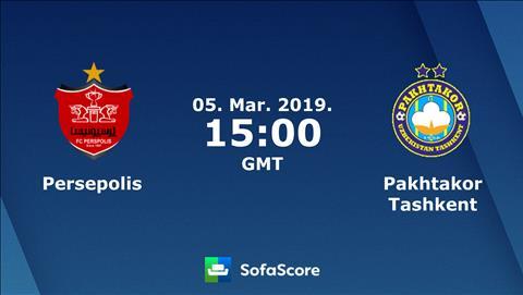 Persepolis vs Pakhtakor 22h00 ngày 53 (AFC Champions League 2019) hình ảnh