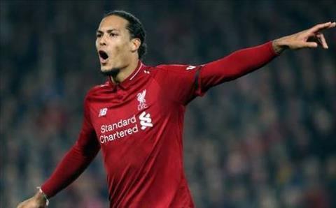 Trung vệ Van Dijk Liverpool xứng đáng giành những danh hiệu hình ảnh