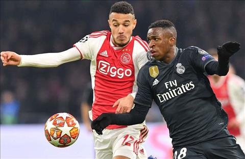 Real vs Ajax Vinicius Junior