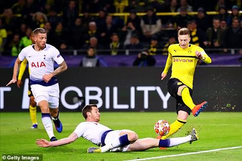 Dortmund vs Tottenham Màn trình diễn trái ngược của hai thủ quân hình ảnh