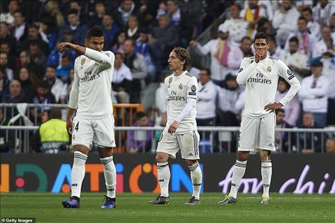 Tiền vệ Luka Modric trận Real 1-4 Ajax Vị vua đoản mệnh hình ảnh