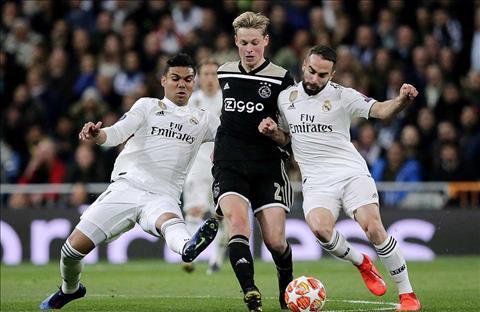 Tiền vệ De Jong phát biểu trận Real Madrid 1-4 Ajax Amsterdam hình ảnh