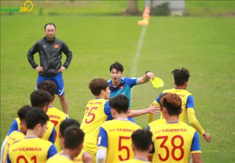 Cac cau thu U23 Viet Nam kha hao hung voi bai tap nay.