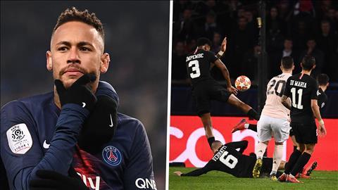 HLV PSG bảo vệ Neymar sau trận thua MU hình ảnh