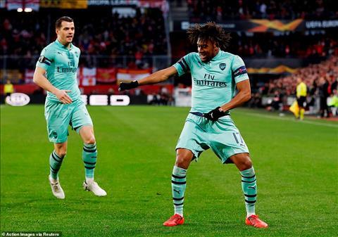 Du sao Arsenal cung co chut von la mot ban tren san khach