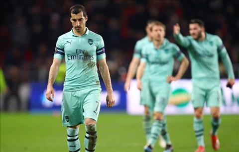 Rennes 3-1 Arsenal Mkhitaryan