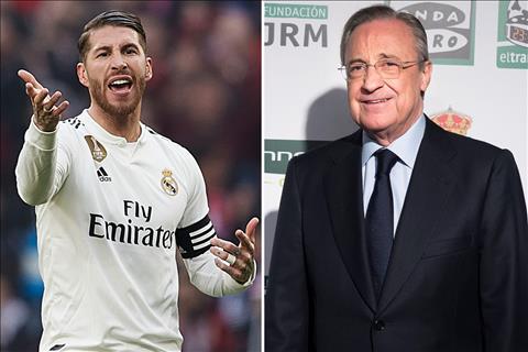 Bị chỉ trích, Ramos bật lại chủ tịch Perez hình ảnh