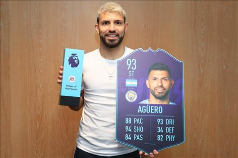 Sergio Aguero được vinh danh hay nhất tháng 2 Premier League hình ảnh