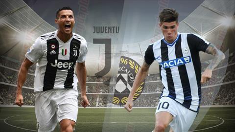 Juventus vs Udinese 2h30 ngày 83 (Serie A 201819) hình ảnh