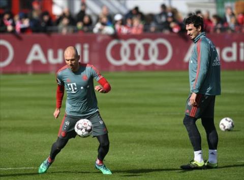 Arjen Robben dính chấn thương hình ảnh