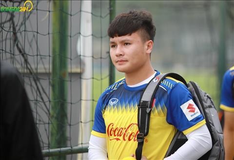 Quang Hai la thu quan cua DT U23 Viet Nam sau khi ban huan luyen cong bo vao sang 8/3.