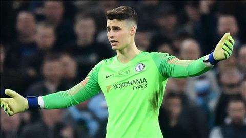 HLV Sarri cho rang hanh dong noi loan cua Kepa tot cho Chelsea