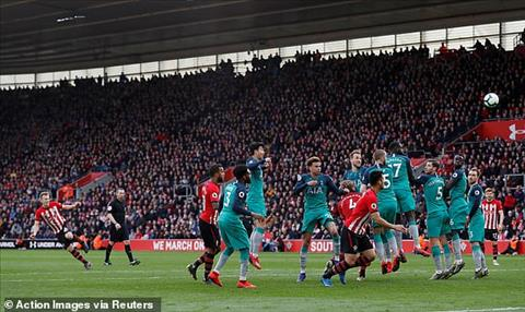 Tottenham thua 1-2 truoc Southampton