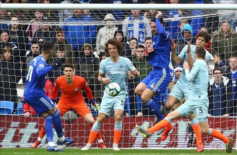Dư âm Cardiff 1-2 Chelsea May mắn chiến thắng tử thần hình ảnh