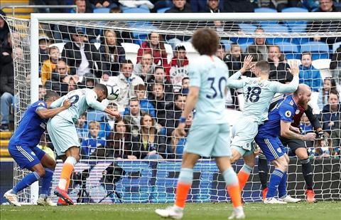 Cardiff vs Chelsea Loftus-Cheek an dinh ty so