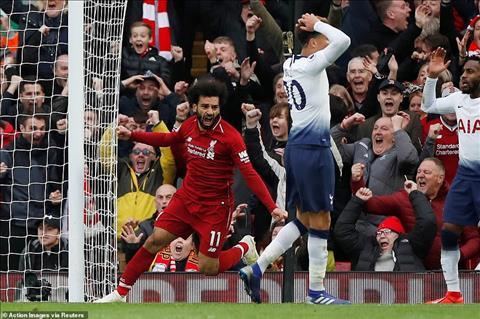 Mohamed Salah tỏa sáng trước Tottenham hình ảnh