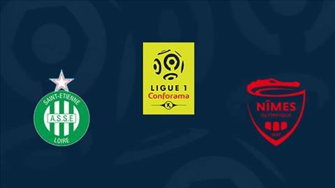 StEtienne vs Nimes 1h30 ngày 24 (Ligue 1 201819) hình ảnh