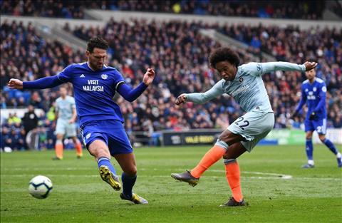 Những thống kê đáng nhớ sau trận đấu Cardiff 1-2 Chelsea hình ảnh