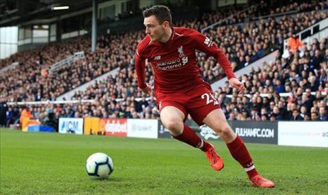 Liverpool 2-1 Tottenham Robertson