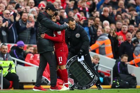 Salah noi ve tran Liverpool vs Tottenham