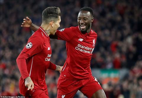 Firmino vs Keita la hai cau thu ghi ban cho Liverpool