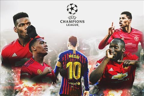Manchester United vs Barcelona Đến Old Trafford bắt quỷ hình ảnh