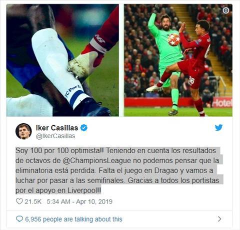 Casillas không phục chiến thắng của Liverpool hình ảnh