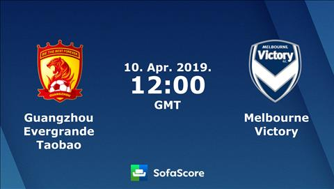 Guangzhou Evergrande vs Melbourne Victory 19h00 ngày 104 (AFC Champions League 201819) hình ảnh