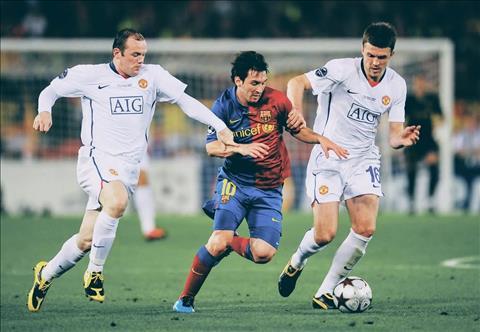 Michael Carrick Nụ cười có nở trước Barcelona hình ảnh