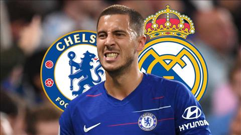 Rời Chelsea, Eden Hazard tới Real Madrid với giá 100 triệu bảng hình ảnh