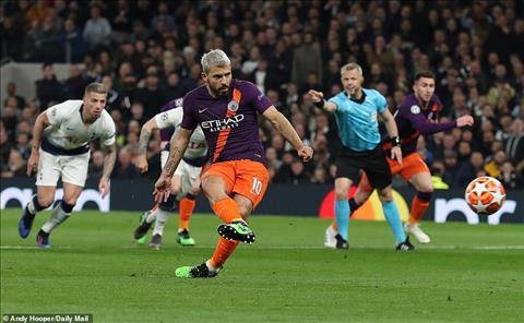 Tottenham 1-0 Man City Aguero