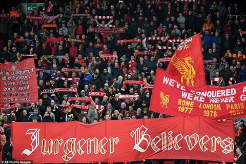 Anfield Liverpool 2-0 Porto