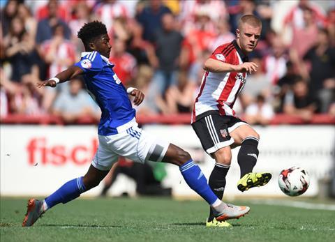 Brentford vs Ipswich 1h45 ngày 114 (Hạng nhất Anh 201819) hình ảnh