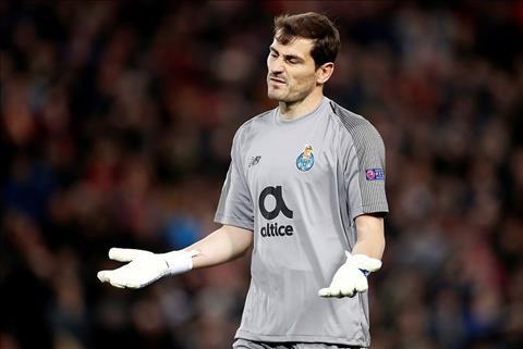 Casillas Liverpool 2-0 Porto