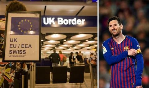 Lionel Messi bi doa khong cho nhap canh vao Manchester.