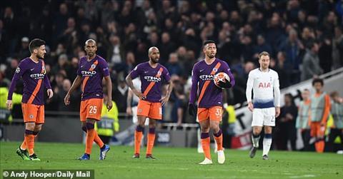Man City bị Tottenham hạ gục ở tứ kết Coi chừng mất tất hình ảnh