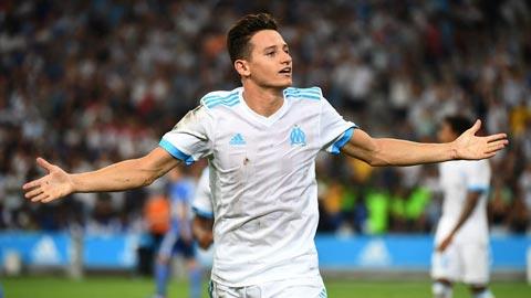 Marseille bán Thauvin cho các đội bóng Anh nếu hình ảnh
