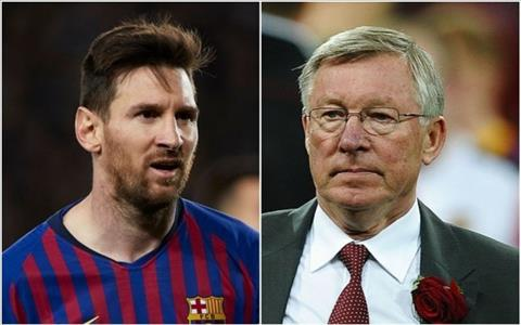 Sir Alex vs Messi