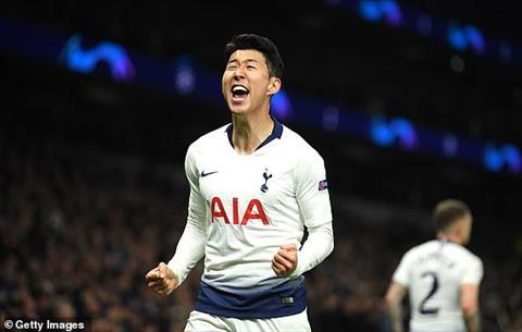 Son Heung-Min nói về trận Tottenham vs Man City hình ảnh
