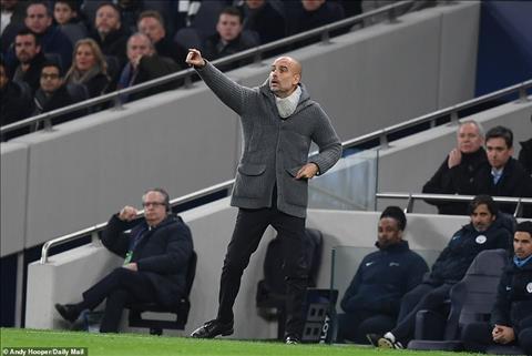 Pep Guardiola chia se sau tran thua Tottenham
