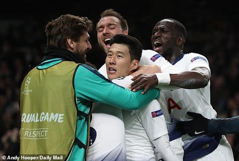 Tottenham chiem loi the truoc tran luot ve