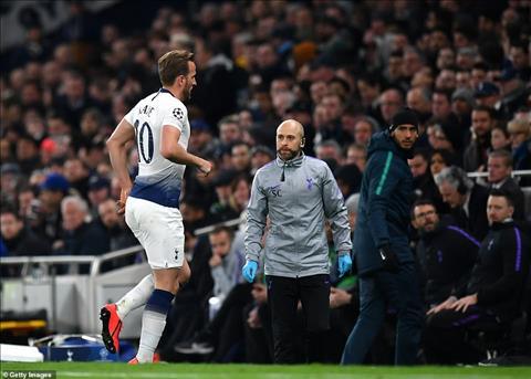 Tiền đạo Harry Kane chấn thương trận Tottenham 1-0 Man City hình ảnh