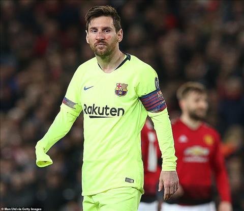 Nhin chung Messi da bi M.U phong toa tot o tran nay nen khong co nhieu co hoi de doa cau mon De Gea