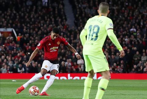 M.U thua Barca 1-0 Rashford dut diem