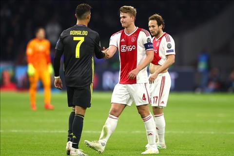Ajax vs Juventus De Ligt va Ronaldo