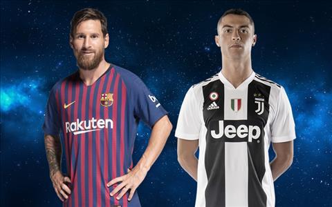 Messi gio khong phai la doi thu cua Ronaldo o Champions League