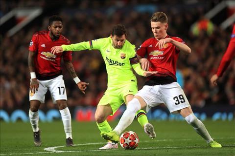 HLV Mourinho khen ngợi tiền vệ McTominay ở trận MU 0-1 Barca hình ảnh