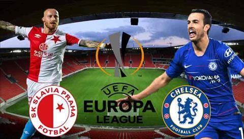 Slavia Praha vs Chelsea luot di vong tu ket Europa League 2018/19