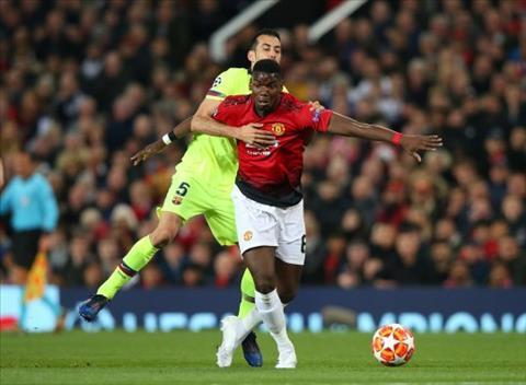 Paul Pogba nói về tương lai sau trận thua Barca hình ảnh